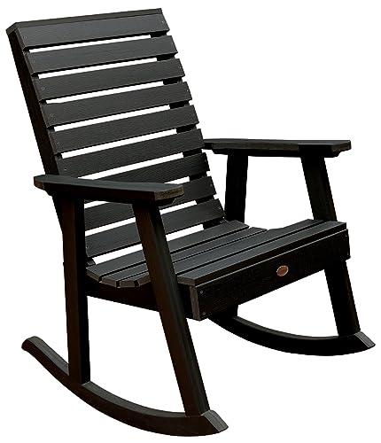 highwood Furniture Weatherly Rocking Chair Black