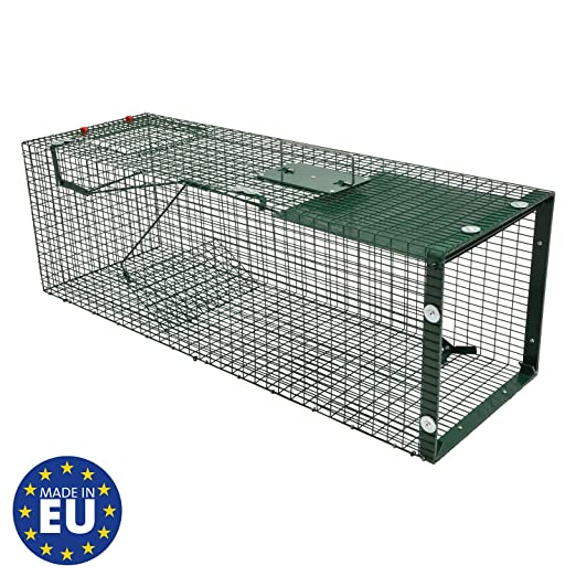 Moorland Safe 5002 - Trampa para Animales Vivos - 90x30x30 cm ...