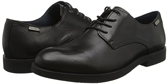 Pikolinos Dublin 6020_I14 - Zapatos de cordones, color Negro, talla 12 UK