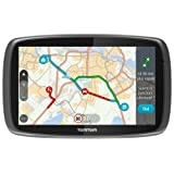 TomTom GO 51 (5 Pouces) - GPS Auto - Cartographie Monde, Trafic, Zones de Danger à Vie