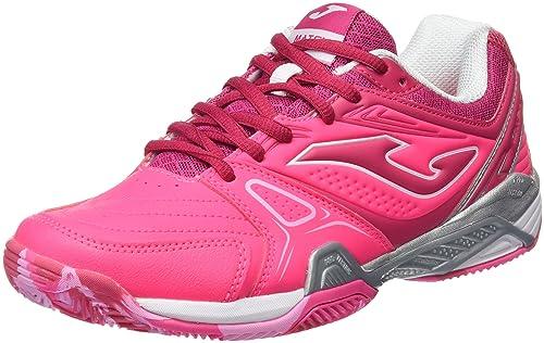 Joma T.Match Lady 610 Clay Fucsia-Morado Zapatillas de Tenis, Mujer: Amazon.es: Zapatos y complementos