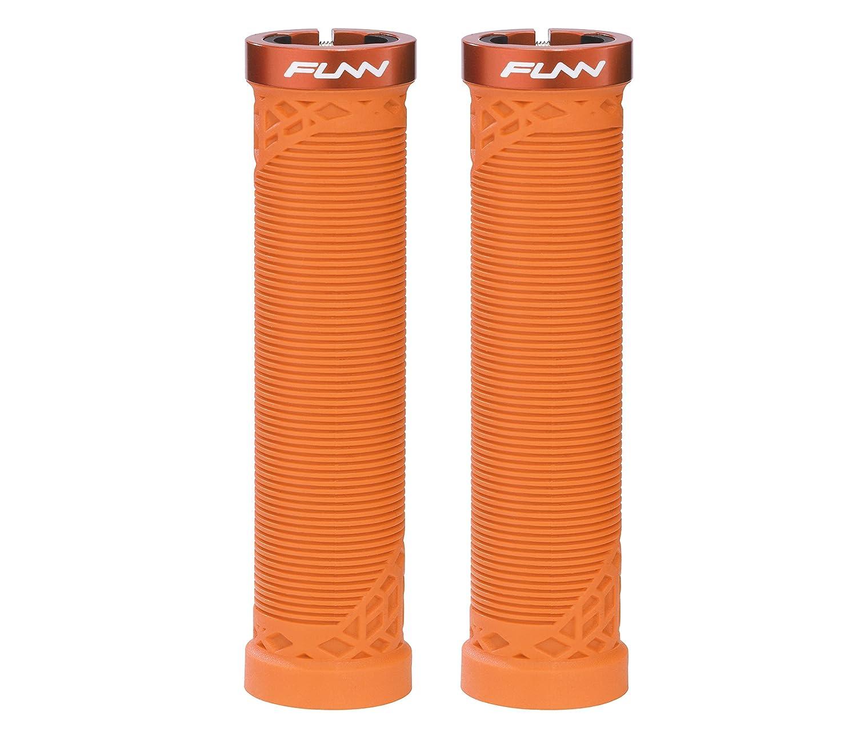 Funn Hiltバイクグリップ B076J5NP7C オレンジ オレンジ