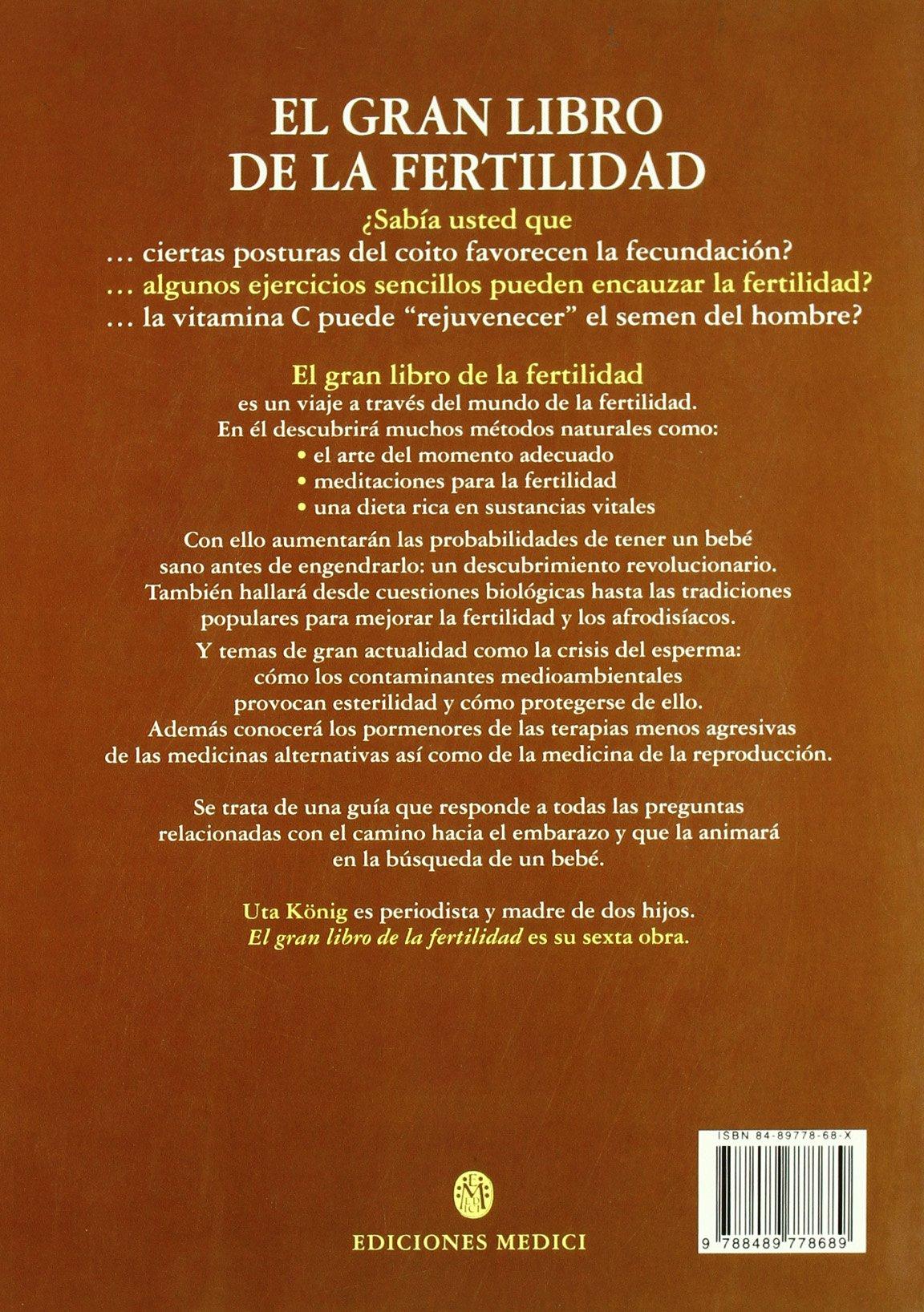 EL GRAN LIBRO DE LA FERTILIDAD (EMBARAZO): Amazon.es: U. KÖNIG: Libros