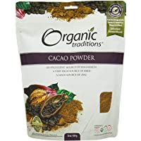 Organic Traditions Organic Powder, Cacao, 16 Ounce