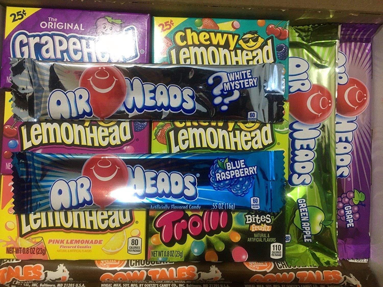 Sweets Heaven American Sweets Gift Hamper Box 11 Items - Sweet Treats Hamper by 24/7 Shopping Zone