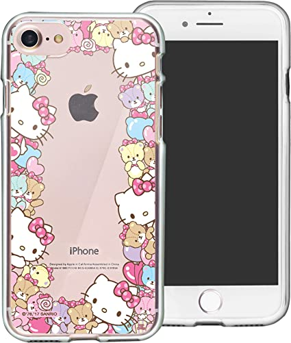 Amazon Com Iphone 8 Iphone 7 Iphone Se 2020 Case Hello Kitty Cute Border Clear Jelly Cover Iphone8 Iphone7 Iphone Se 2020 4 7inch Case Border Hello Kitty
