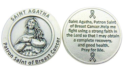 What saint heals breast cancer