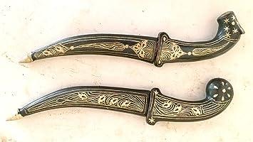 Amazon Com Krishna Handicrafts Lot Of Two Indo Persian Mughal