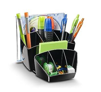 Gr/ün Schreibtisch Ordnungssystem einfach zu bedienender Cosanter Hochwertiger Stiftek/öcher Organizer Stiftebox zum optimieren Ihres B/ürobedarfs
