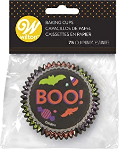 Non-Food Items Standard Baking Cups, One Size, Boo 75/Pkg
