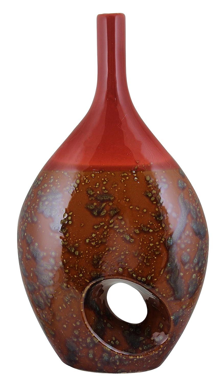 Essentials D/écor Entrada Collection Ceramic Vase 9 by 16-Inch EN41025
