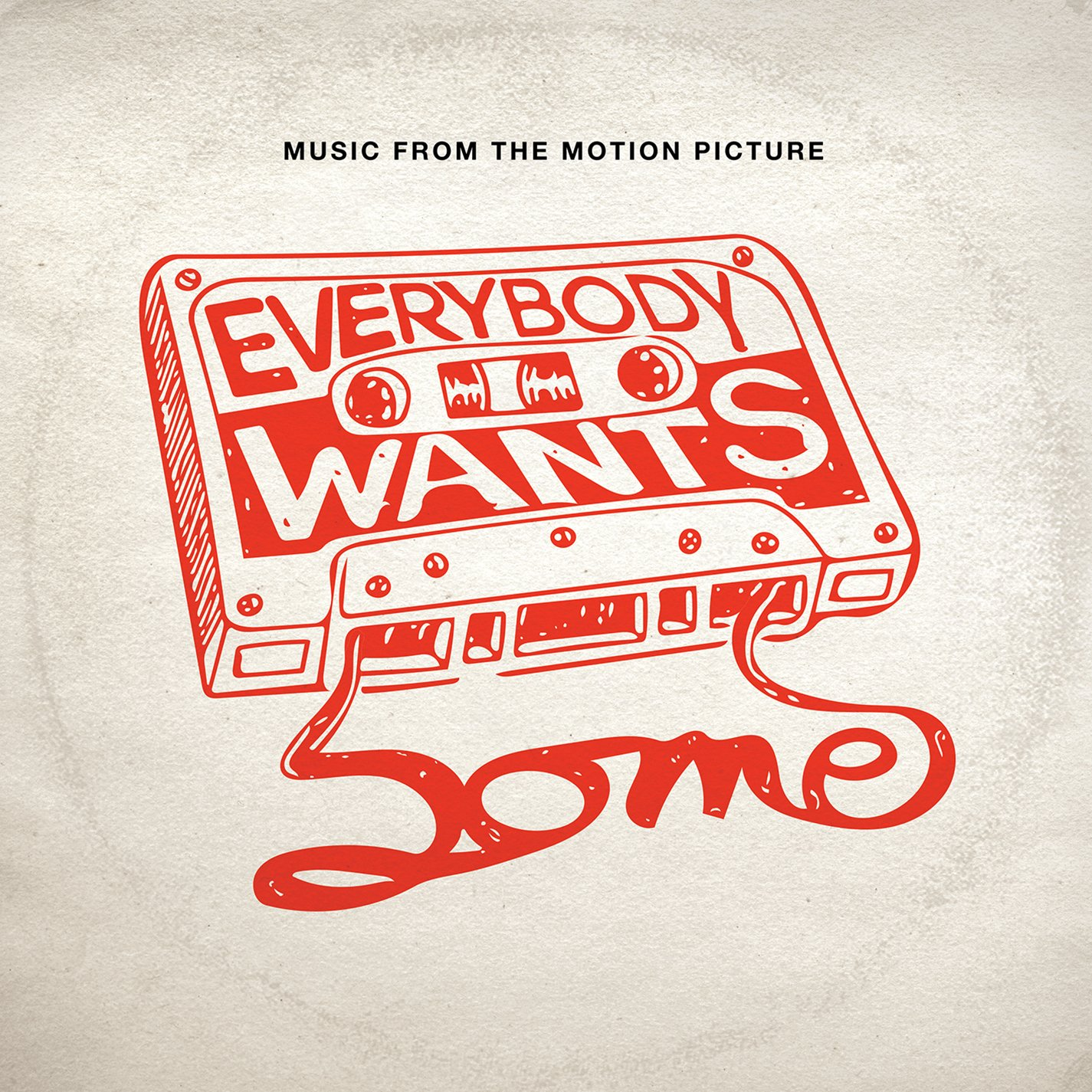 Cassette : EVERYBODY WANTS SOME!! - Everybody Wants Some!! (original Soundtrack) (Cassette)