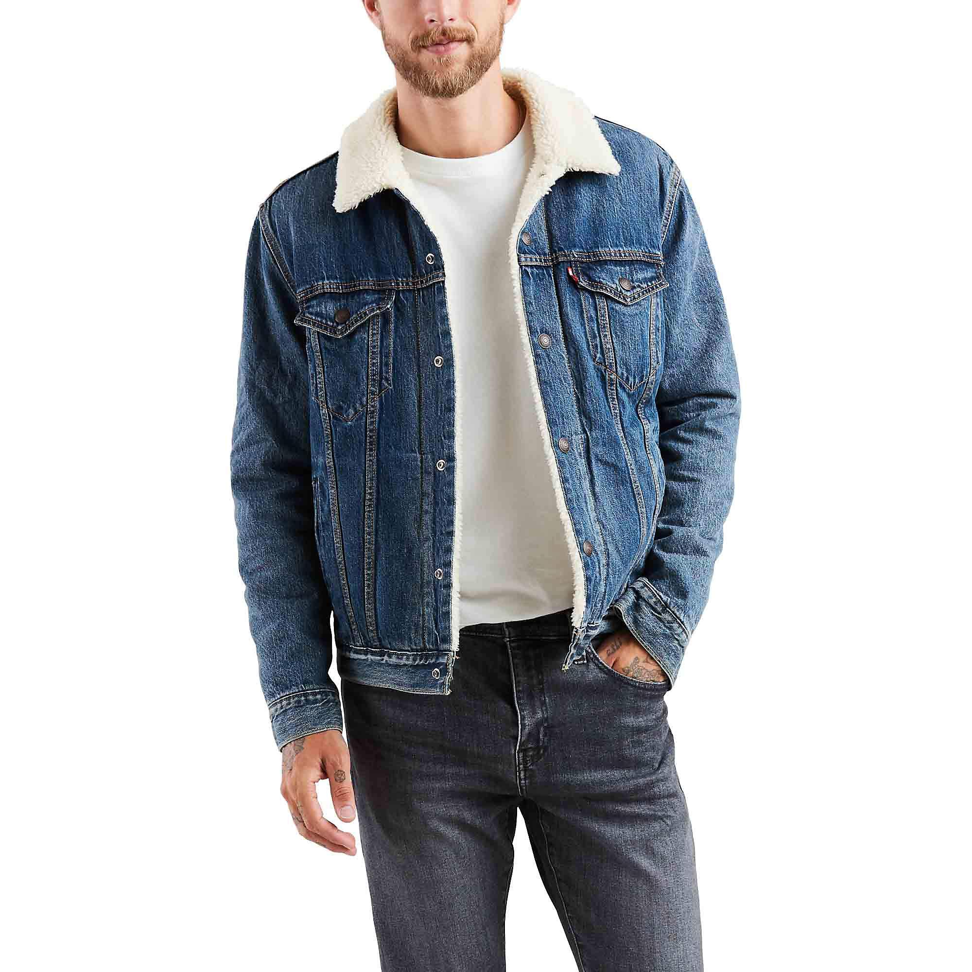 Levi's Sherpa Trucker Jacket - Men's - Mays L by Levi's
