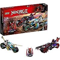 LEGO 70639 NINJAGO Street Race of Snake Jaguar, Toy Bikes, Masters of Spinjitzu Playset