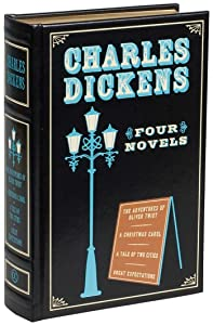 Charles Dickens: Four Novels (Leather-bound Classics)