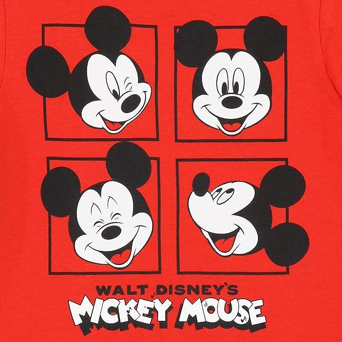 Disney Pijamas de Manga Larga para niños Mickey Mouse: Amazon.es: Ropa y accesorios