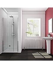 ELEGANT Bifold Shower Door 6mm Glass Shower Enclosure Reversible Folding Shower Door