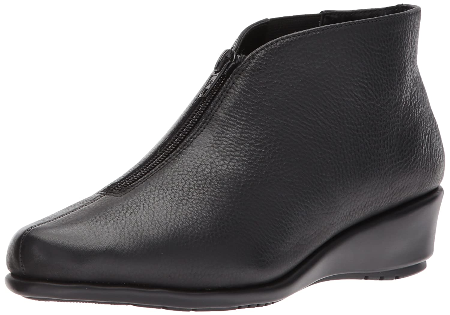Aerosoles Women's Allowance Ankle Boot B06Y61TWN3 6.5 W US|Black Leather