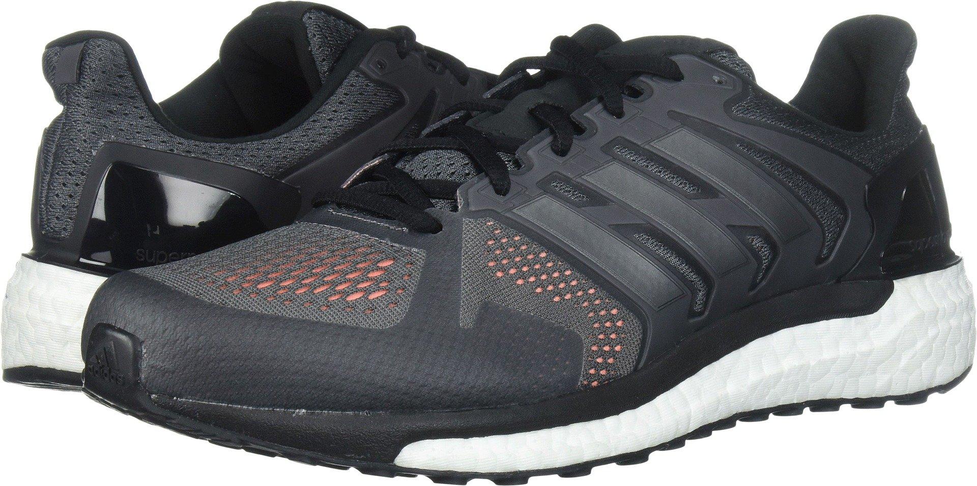 new concept 8edf6 584e1 Galleon - Adidas Men s Supernova St M Running Shoe, Grey Four Black Solar  Orange, 7 Medium US