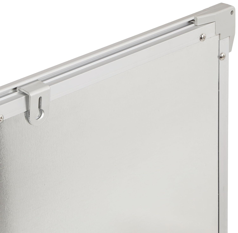 AmazonBasics Magnetisches Whiteboard mit Stiftablage und ...