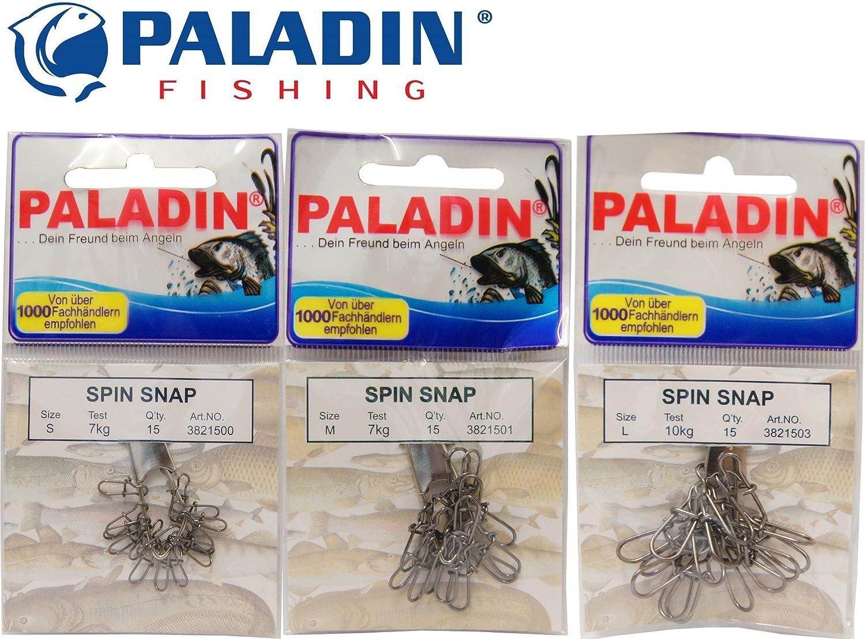 15 Cebo Artificial Spin Snap Trick Pescado, Einhänger para Pesca ...