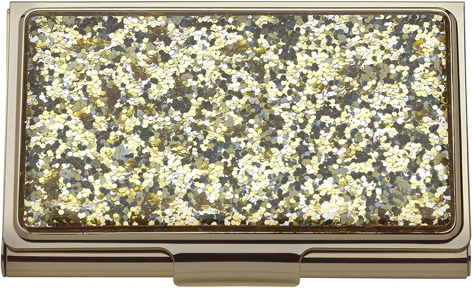 Kate Spade New York Simply Sparkling Card Holder, Gold