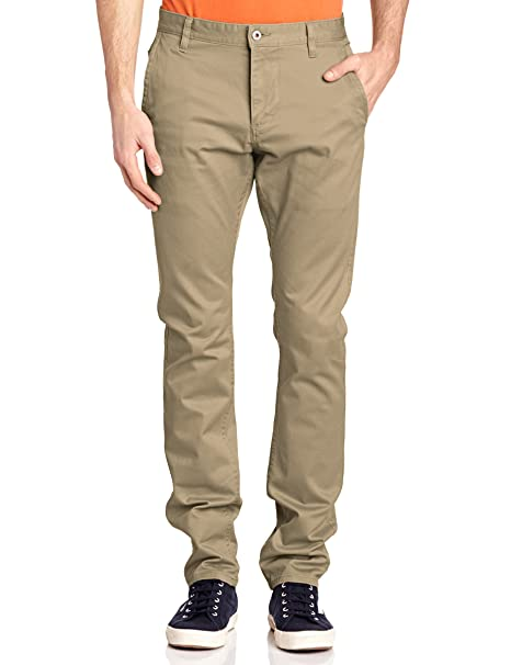 Bic Alpha Original Skinny-Stretch Twill, Pantalones para Hombre, Marrón (New British Khaki 0150), W29/L32 Dockers