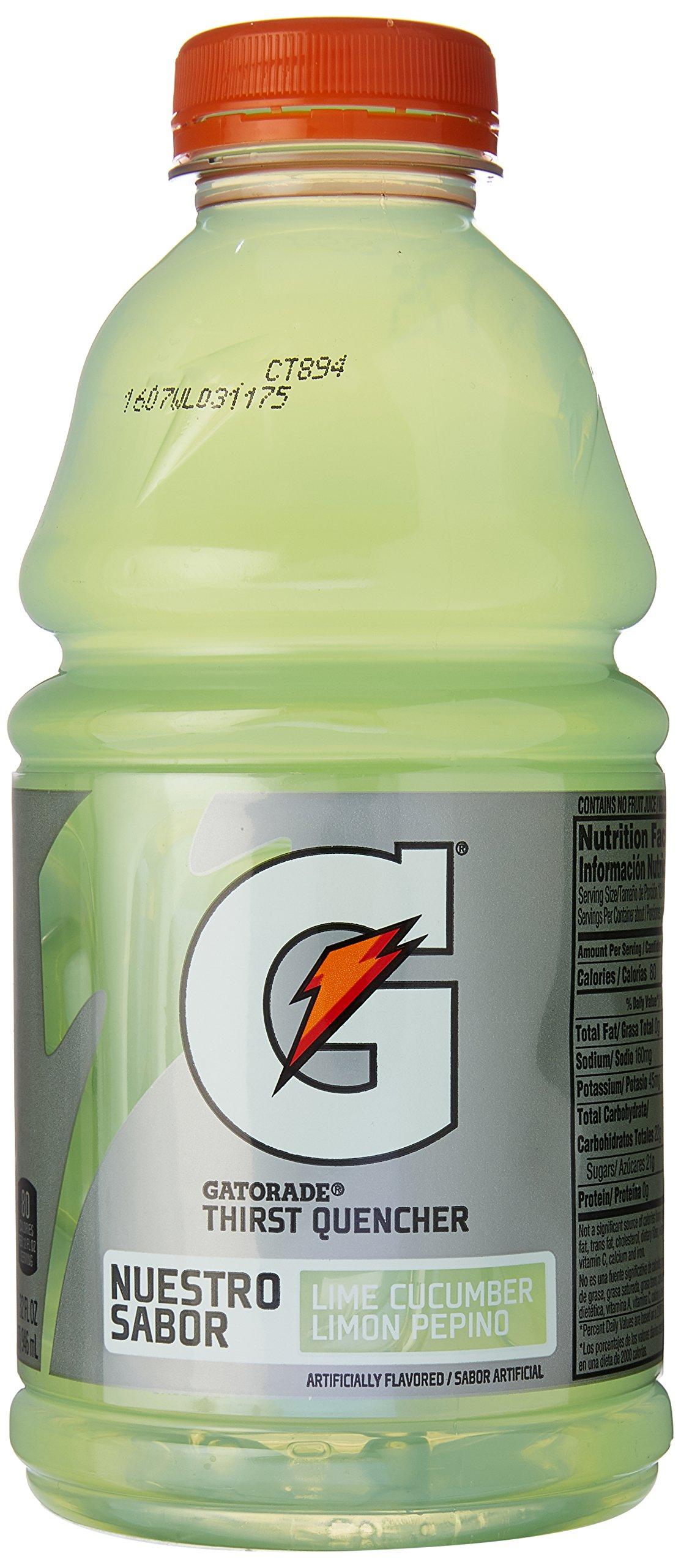 Gatorade G Series Perform Lime Cucumber Sports Drink, 32 oz