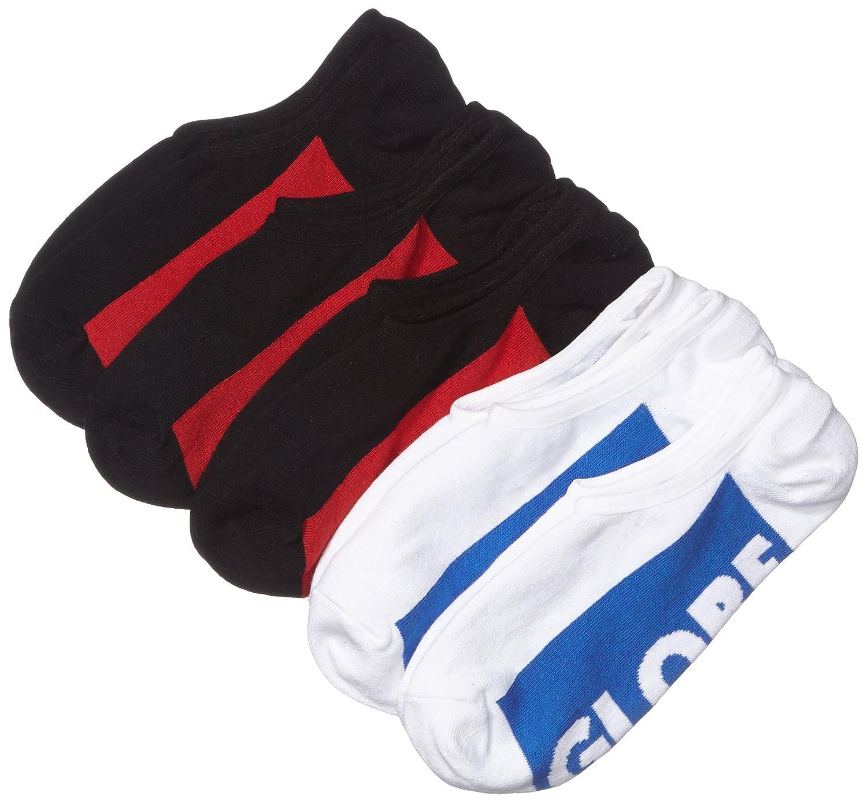 Globe Socken Invisible Socks 5 Pack, Black/White, 7-11, GB71029048