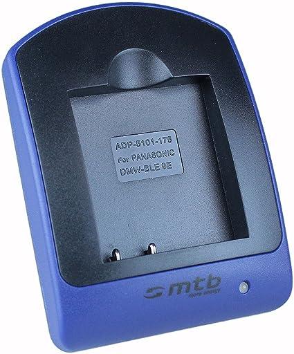 Ladeschale DC120 Kompatibel mit Panasonic DMW-BLE9 DMW-BLG10 DMW-BLG10E DMW-BLH7
