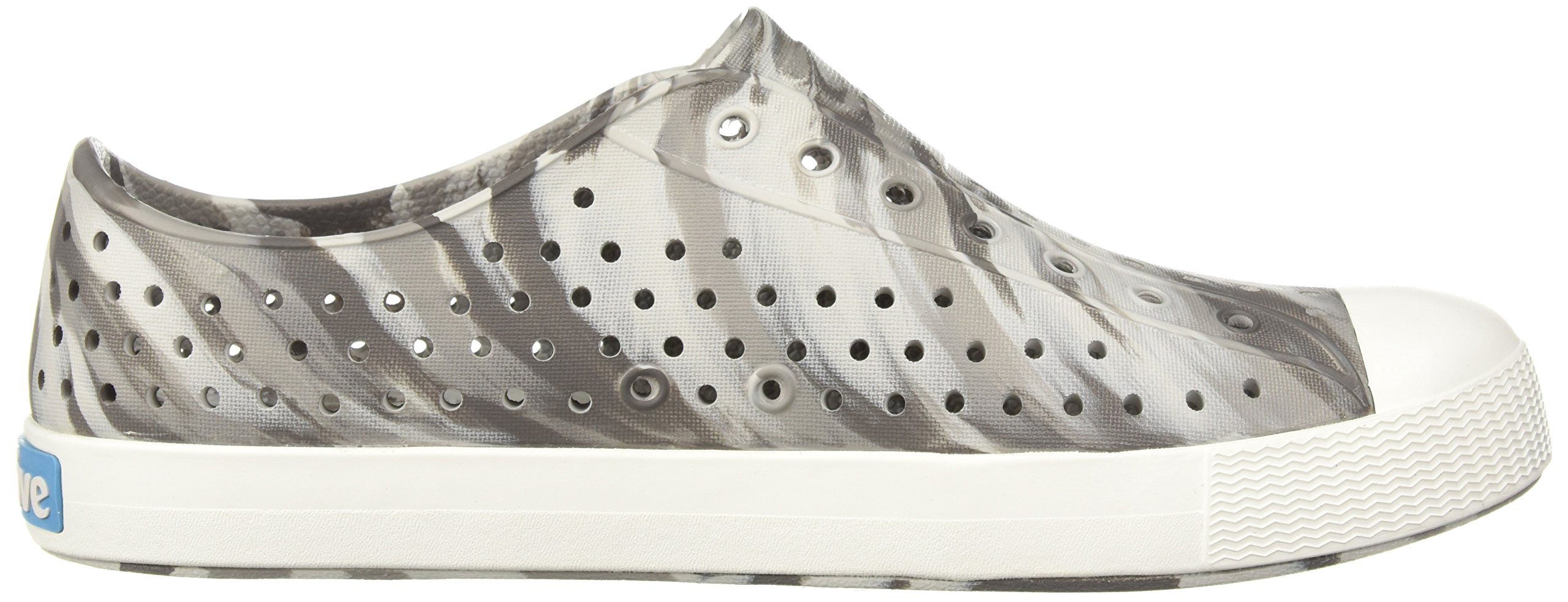 Native Kids Marbled Jefferson Water Proof Shoes, Dublin Grey/Shell White/Marbled, 5 Medium US Big Kid by Native Shoes (Image #7)
