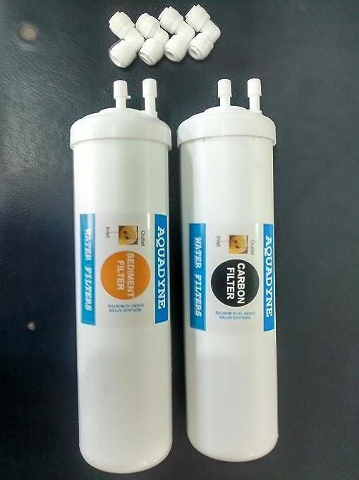 c8772763e68 Aquadyne RO Service Nano Size Carbon and Sediment Filter Kit for Aquaguard  Aquasure Nano-RO  Amazon.in  Home   Kitchen