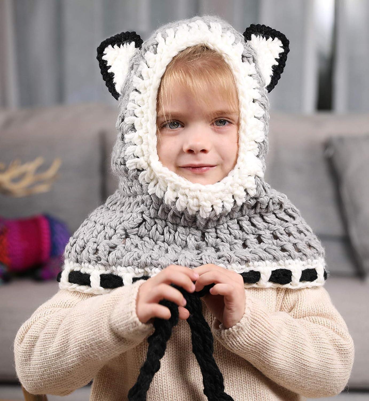 Sumolux Gorras Fox Sombreros Capucha Beanie Niños Niñas Bebés de Punto para  Invierno  Amazon.es  Ropa y accesorios e5f7f5c6055