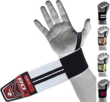 RDX Correas Levantamiento Gym Muñequeras Gimnasio Musculacion Peso Elevación Fitness: Amazon.es: Deportes y aire libre