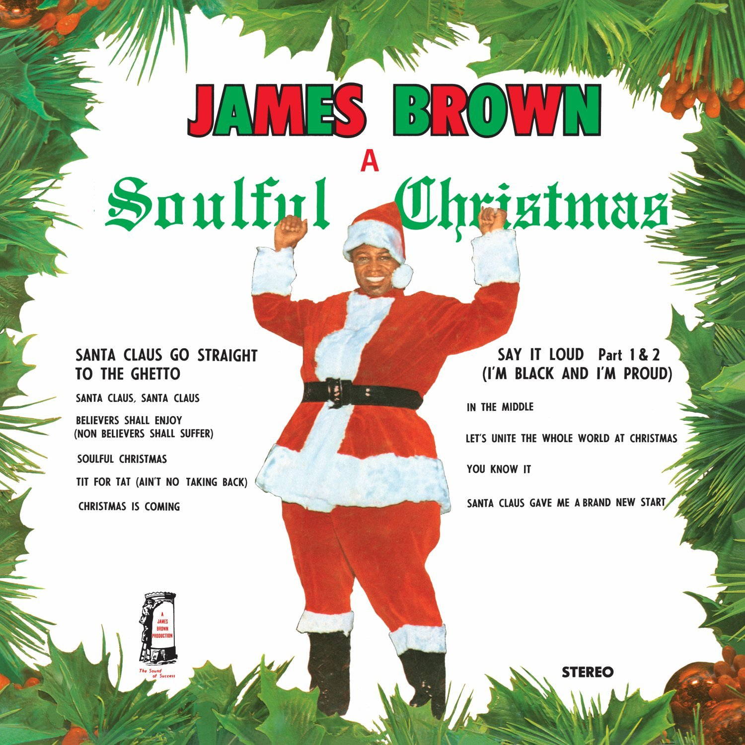 James Brown - Soulful Christmas [LP] - Amazon.com Music
