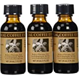 Bakto Flavors Natural Coffee Extract (1FL OZ) Pack of 3