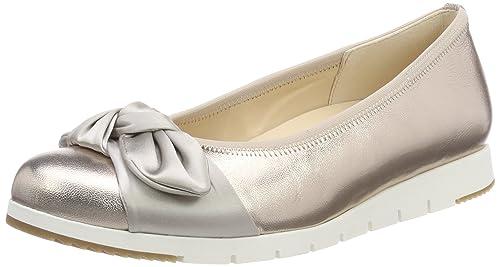 Gabor Comfort Damen Ballerinas Beige Schuhe in