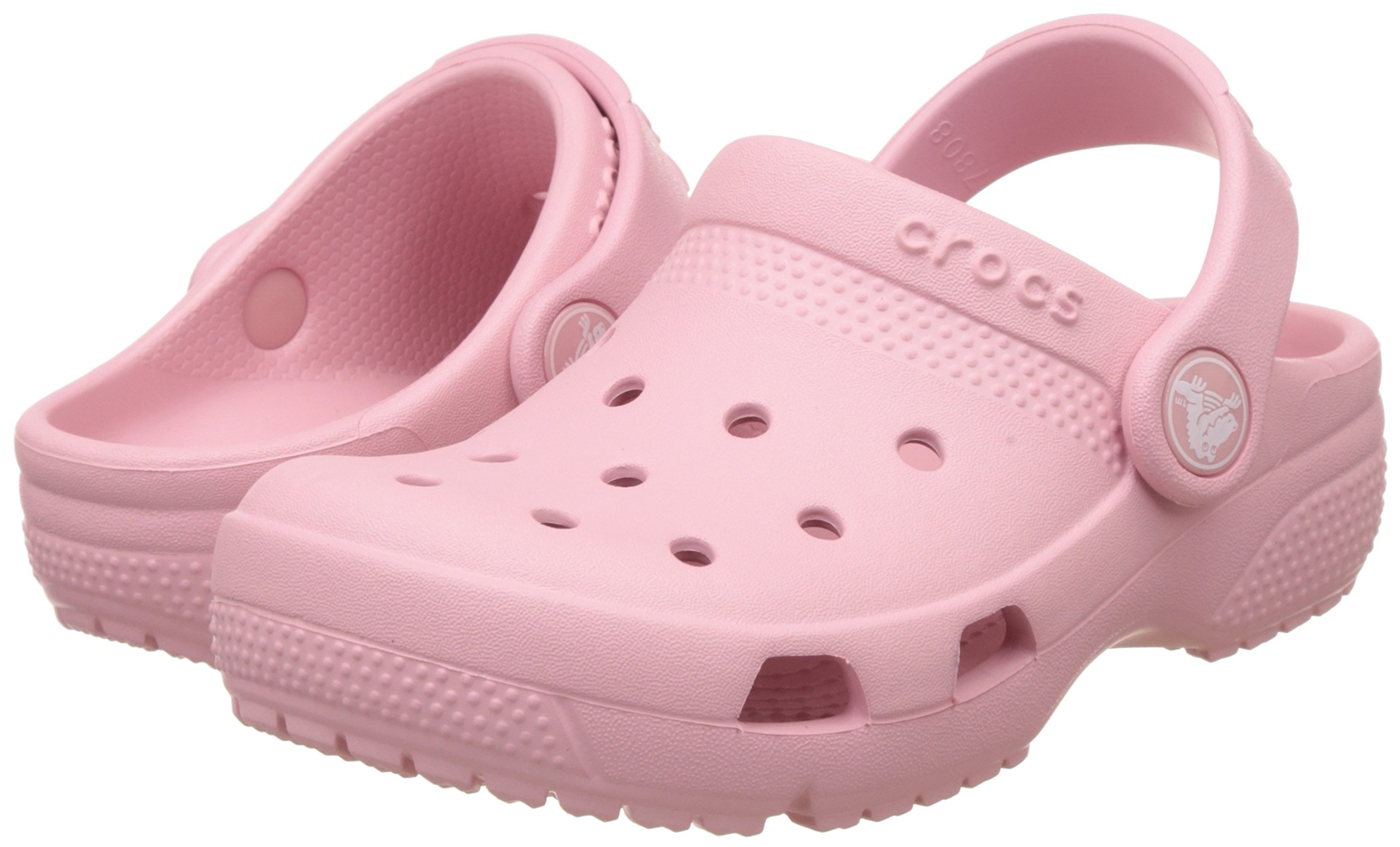 Crocs Kids Unisex Coast Clog (Toddler/Little Kid) Petal Pink 11 M US Little Kid by Crocs (Image #5)