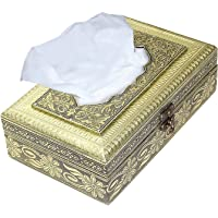 Storite Wooden Handcrafted Eco-Friendly Paper Napkin Holder Box (23 x 14 x 6.5 cm)