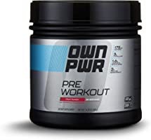 OWN PWR Pre Workout Powder, Fruit Punch, 30 Servings, Keto Friendly, 3G Creatine, 1.6G Beta Alanine (as CarnoSyn), 175...