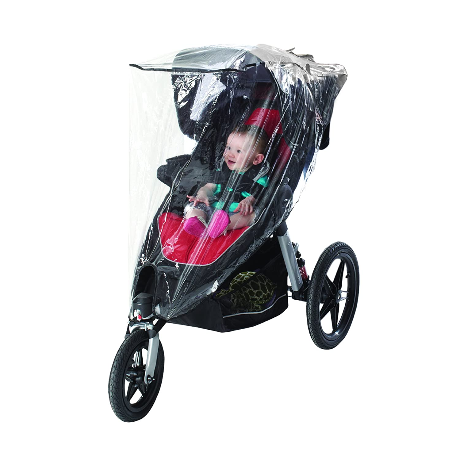 Nuby Jogging Stroller Weather Shield, Clear N120015P