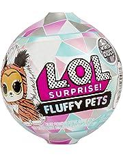L.O.L Surprise. 560487E7C Fluffy Pets Winter Disco Series with Removable Fur, Multicolour
