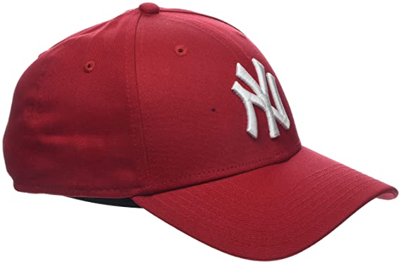 f096454426a5 One Size, Red (Scarlet)) - New Era Men's MLB Basic NY Yankees 9Forty ...
