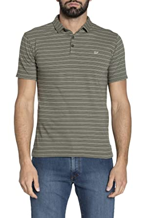 Carrera Jeans - Camiseta Tipo Polo para Hombre, de Rayas ES M ...