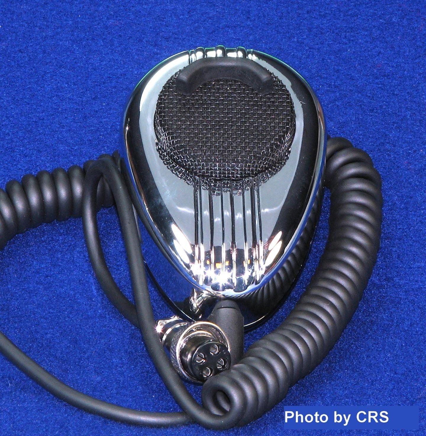 Road King CB HAM RK56 Microphone Black Replacement Screen  Improved Lip Guard