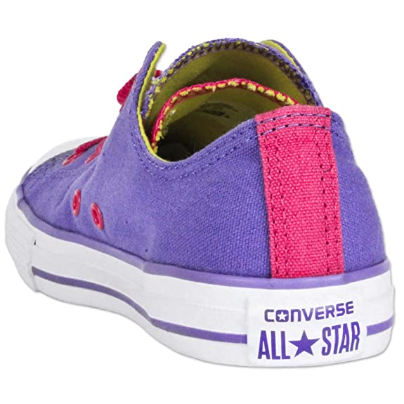 af770d64b6 Converse All Star Mandrin Taylor Double Tongue Ox Chaussures Lila Rose  Chucks Sneaker - Mauve, 37: Amazon.fr: Chaussures et Sacs