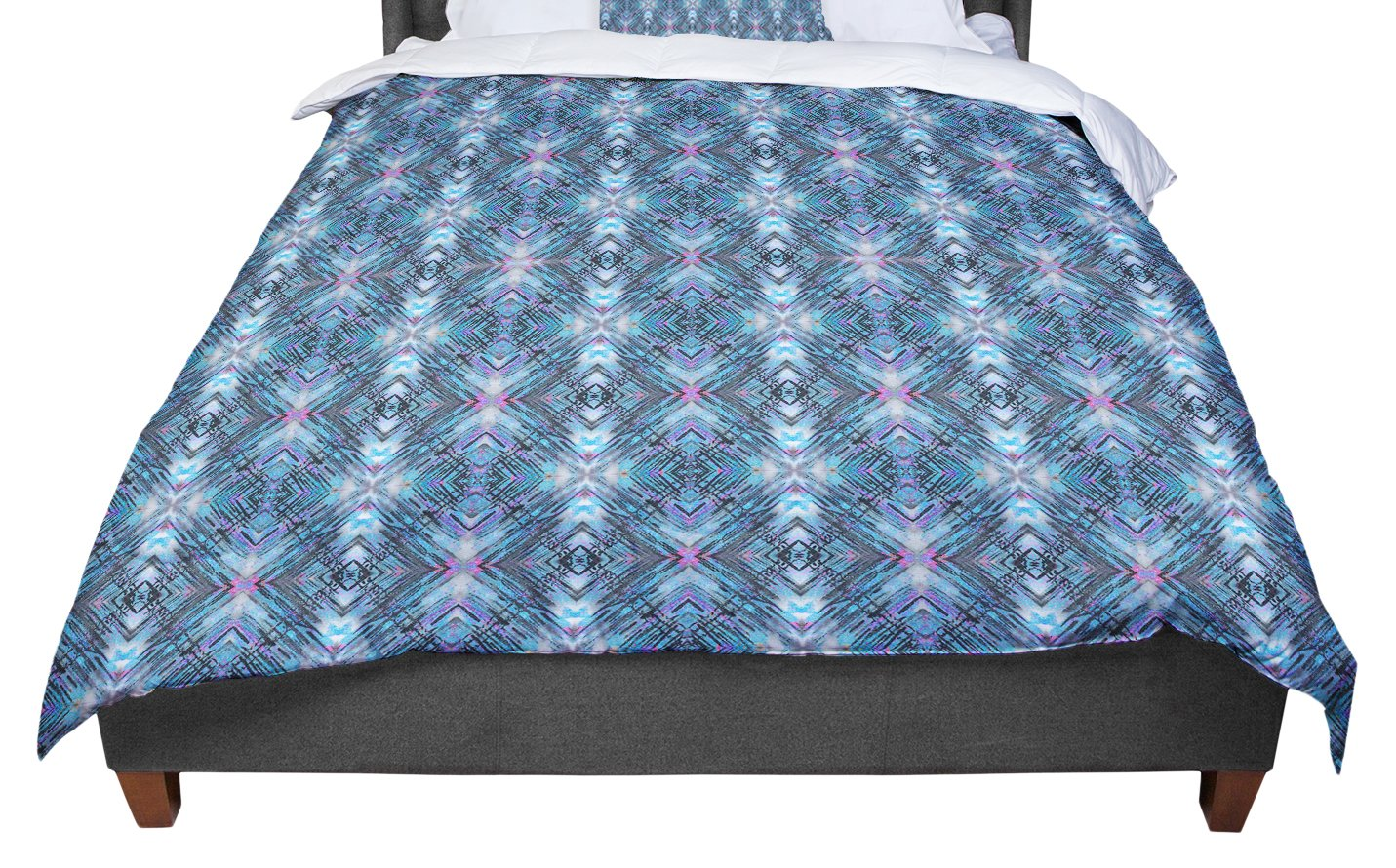 104 X 88 Cal King Comforter KESS InHouse Nandita Singh Tribal Green Pattern King