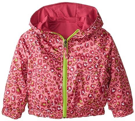 9e94f90f0 Amazon.com  Pink Platinum Big Girls  Reversible Leopard Jacket  Clothing