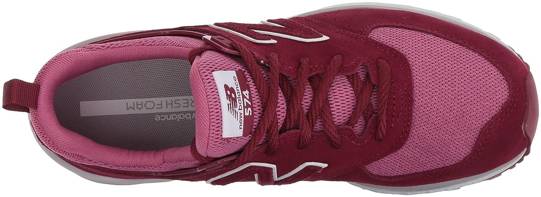 New Balance Ws574 ra b, Sneakers Basses Femme: