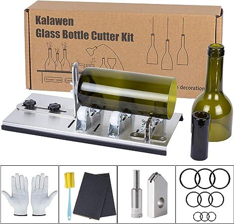 Acier inoxydable verre bouteille coupe machine à vin bouteille coupe outil
